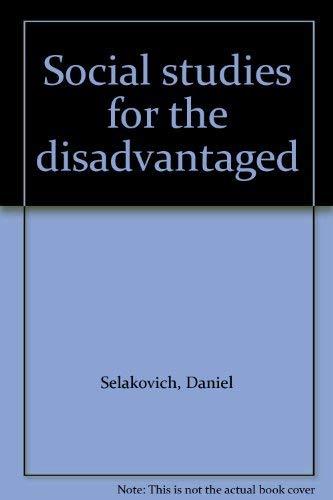 9780030831157: Social studies for the disadvantaged