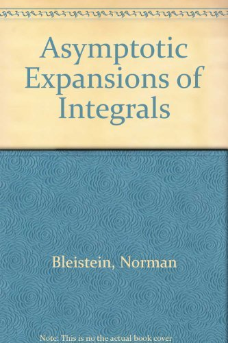 9780030835964: Asymptotic Expansions of Integrals