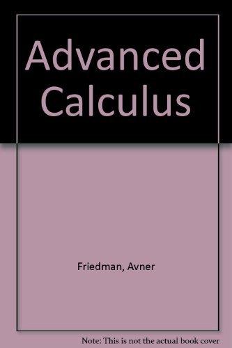 9780030839832: Advanced Calculus
