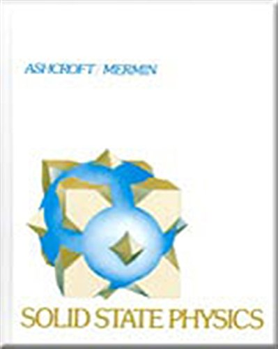 9780030839931: Solid State Physics
