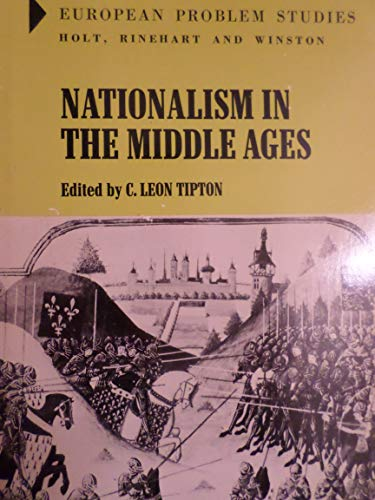 9780030841576: Nationalism in the Middle Ages (European Problems Study)