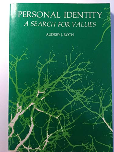 9780030842016: Personal Identity;: A Search for Values