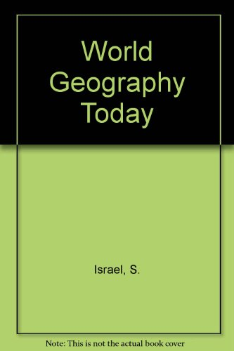 9780030842986: World Geography Today