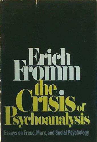 9780030845185: Crisis of Psychoanalysis