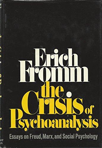 9780030845185: The Crisis of Psychoanalysis