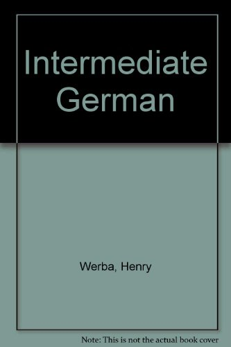 9780030845703: Intermediate German