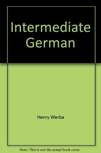 9780030845727: Intermediate German: Teacher's manual