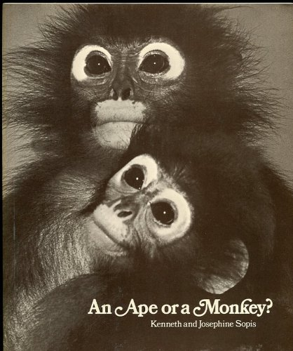 9780030846427: An Ape or a Monkey