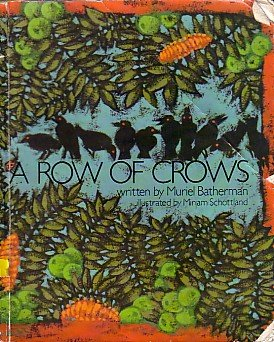 9780030846717: A row of crows (A satellite book)
