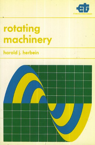 9780030846755: Rotating Machinery (Rinehart Press series in electronics technology)