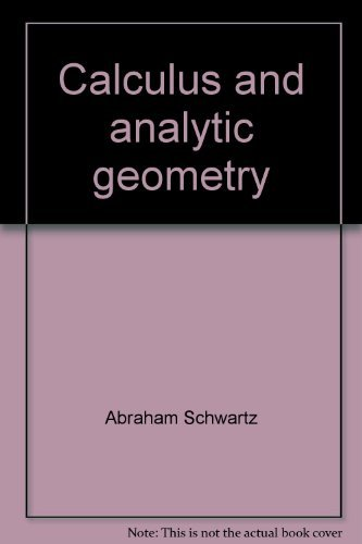 9780030847462: Calculus and analytic geometry