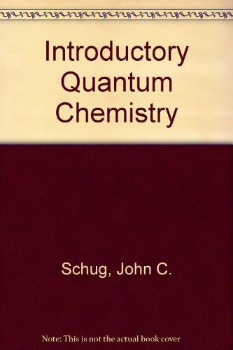 9780030847578: Introductory quantum chemistry