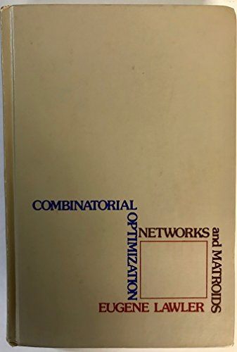 9780030848667: Combinatorial Optimization: Networks and Matroids