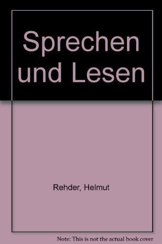 9780030849398: Sprechen und Lesen