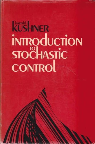 9780030849671: Introduction to Stochastic Control