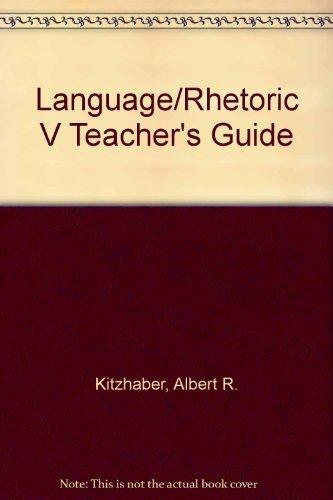 9780030849886: LANGUAGE/RHETORIC V TEACHER'S GUIDE