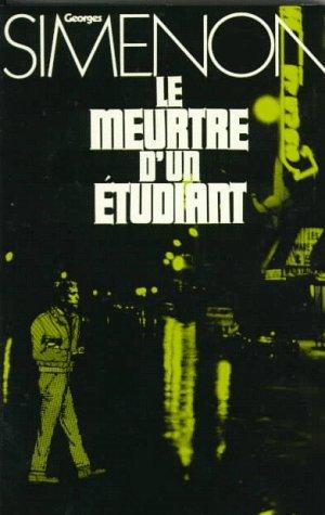 9780030849930: Le Meurtre D'UN Etudiant (French Edition)