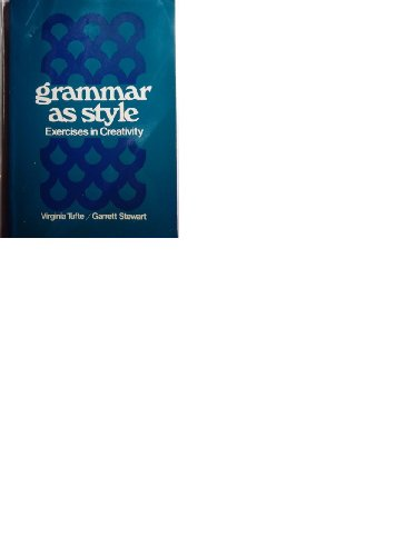 9780030850417: Grammar As Style: Exercises In Creativity