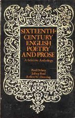 9780030851025: 16th Century Poetry and Prose