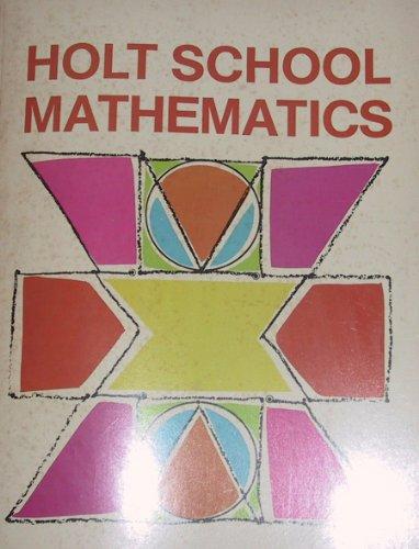 9780030851339: Holt School Mathematics (Grade 1, Levels 1-12)