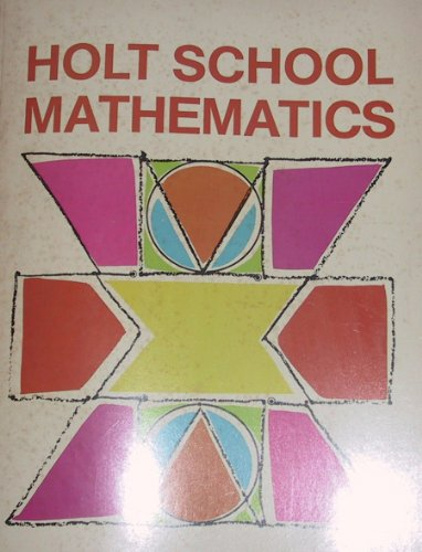 9780030851339: Holt School Mathematics (Grade 1, Levels 1-12)