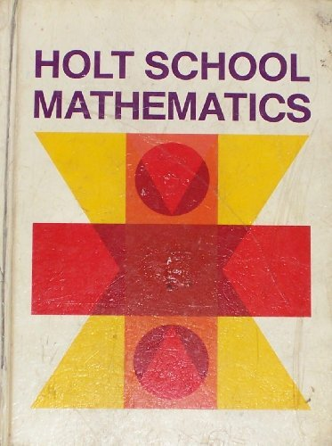 9780030851353: Holt School Mathematics