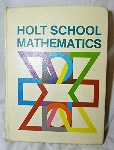 9780030851391: Holt School Mathematics