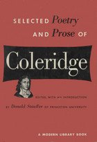 9780030851704: Samuel Taylor Coleridge: Selected Poetry and Prose (Rinehart Editions, No. 55)