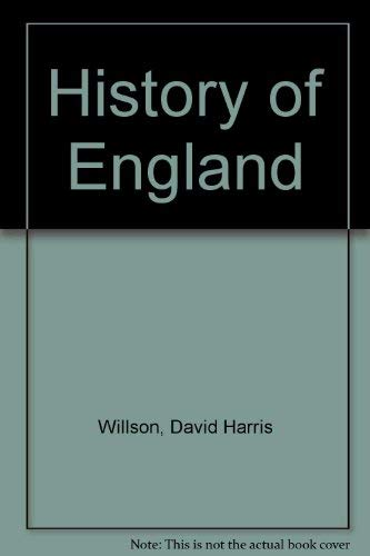 9780030853159: History of England