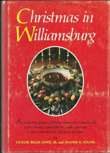 9780030853203: Christmas in Williamsburg.