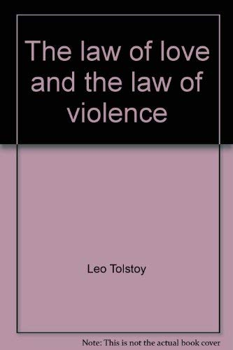 9780030854958: The law of love and the law of violence (Holt paperback)