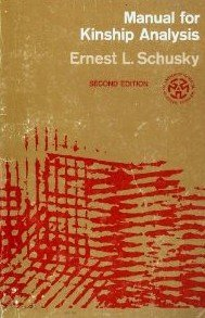 Image result for image of Ernest L.Schusky Manual for Kinship Analysis