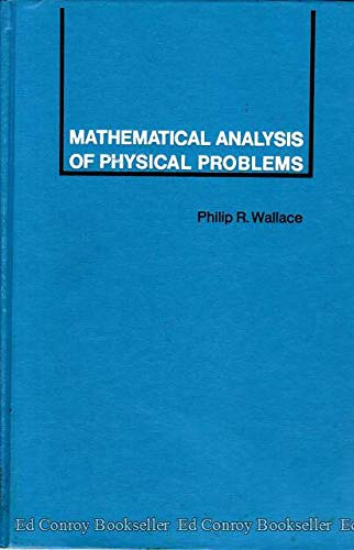 9780030856266: Mathematical Analysis of Physical Problems