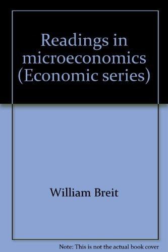 9780030858505: Readings in microeconomics (Economic series)