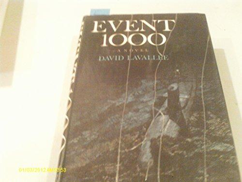 9780030859694: Event 1000: A Novel.
