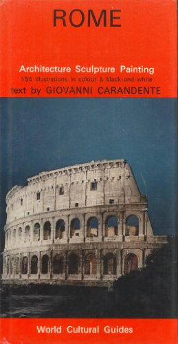 9780030859847: Rome (World cultural guides)