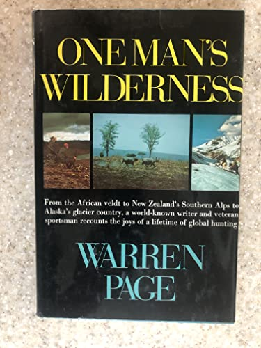 9780030860096: One Man's Wilderness