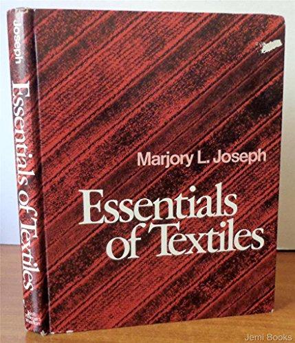 9780030862977: Essentials of textiles