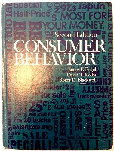 9780030863714: Consumer Behaviour (Holt, Rinehart and Winston marketing series)