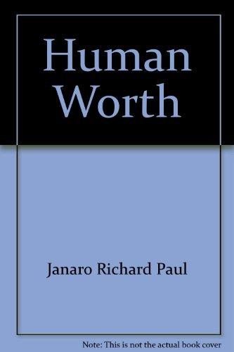 9780030865916: Human worth