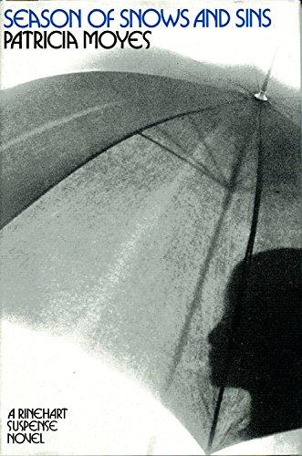 9780030866159: Season of snows and sins (A Rinehart suspense novel)