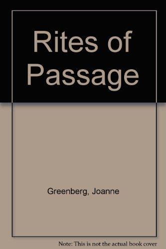 9780030866173: Rites of Passage