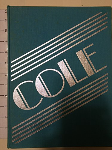 Cole. A Biographical Essay by Brendan Gill. Designed by Bea Feitler.