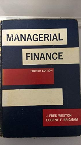 9780030880391: Managerial Finance
