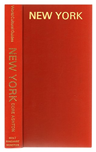 9780030880483: New York: Architecture, Sculpture, Painting (150 Illustrations in Colour & Black-and-White)