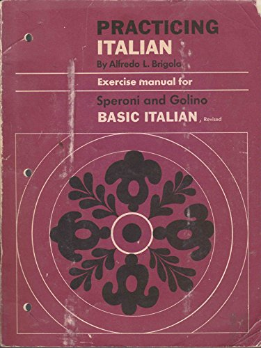 9780030880629: Practicing Italian : Exercise Manual for Basic Italian
