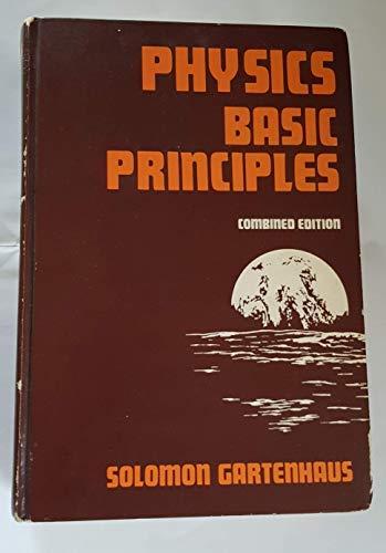 9780030880803: Physics: v. 1: Basic Principles