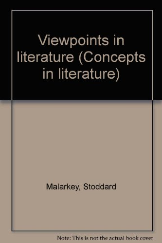 9780030882005: Viewpoints in literature (Concepts in literature)
