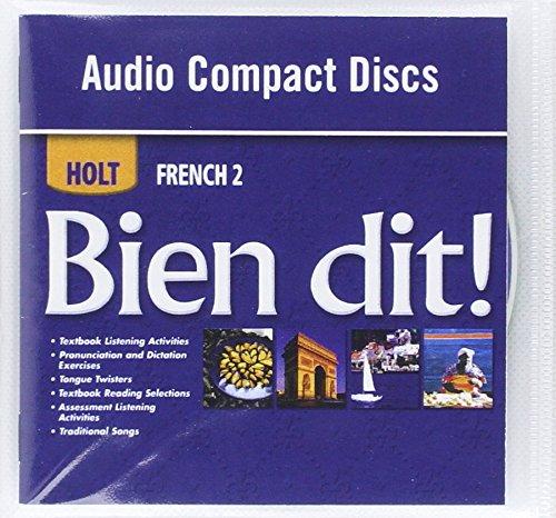 9780030882449: Bien dit!: Audio CD Program Level 2