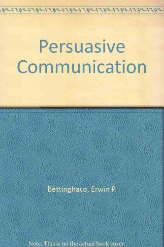 9780030884757: Persuasive Communication